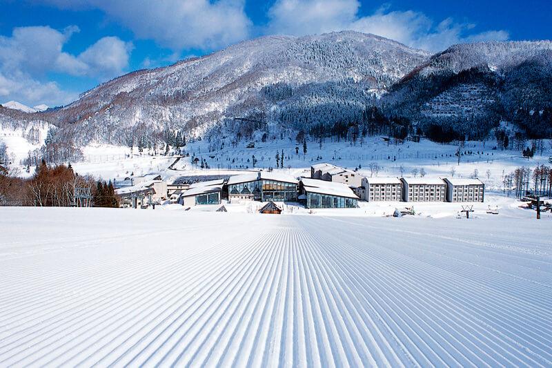 冬の施設全景 写真提供:タングラム斑尾東急リゾート