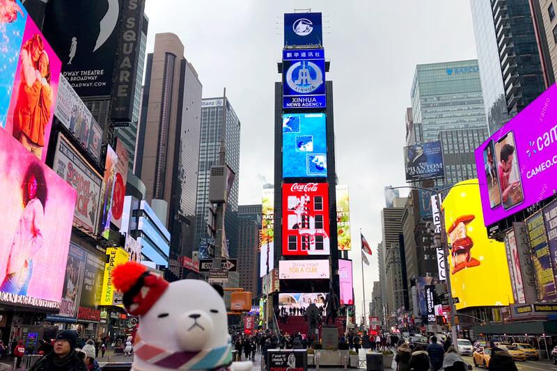 ジーンちゃんがアメリカ・ニューヨークへ!テレビ初潜入のインスタグラムのNY本社で見たモノとは!?