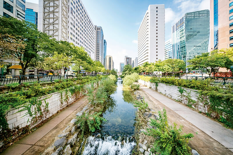 ソウル・清渓川