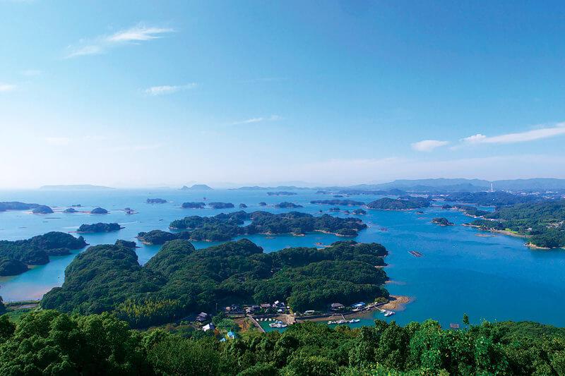 九十九島の絶景眺望 展海峰