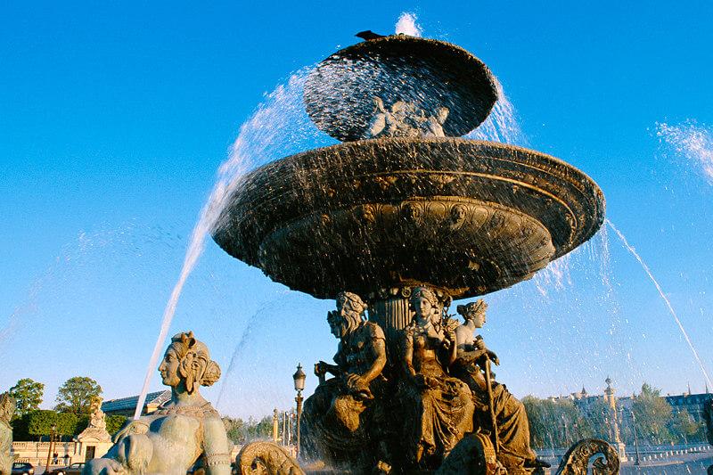 コンコルド広場 噴水