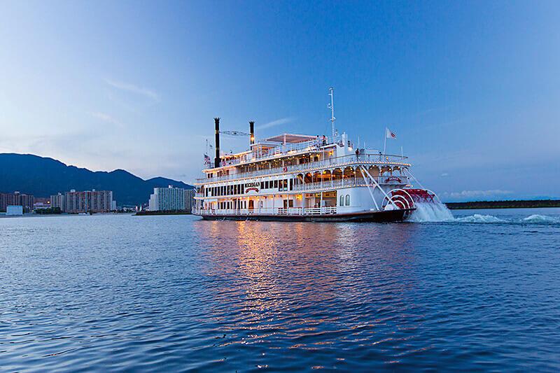 琵琶湖 クルーズ船 ミシガン