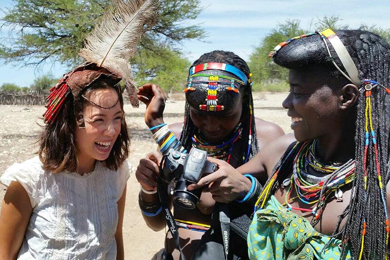 ナミビア・デンバ族