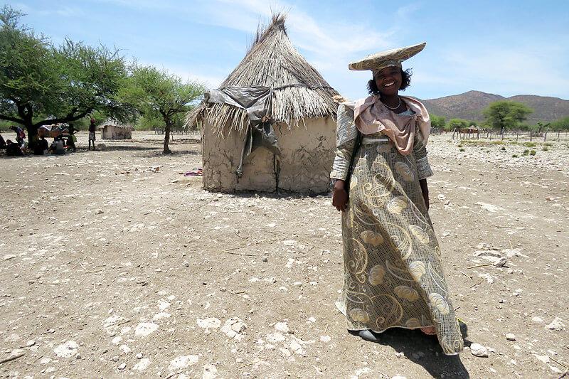 ナミビア・ヘレロ族