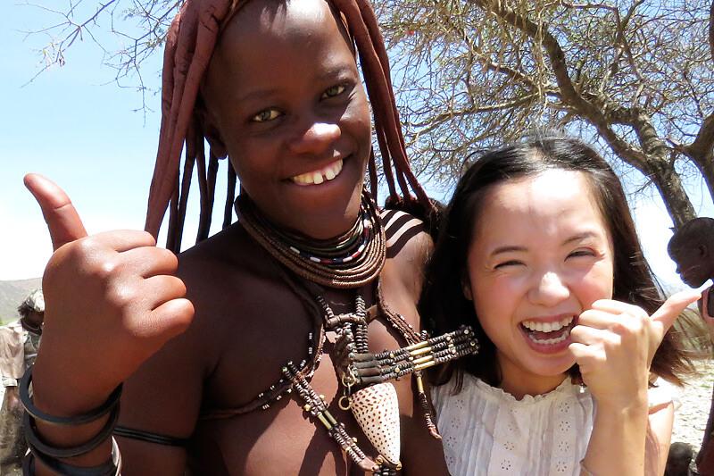 世界一美しいと言われる民族「ヒンバ族」に会ってきました!そして砂漠地帯の絶景巡り!!
