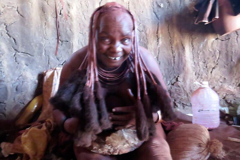 ナミビア・ヒンバ族