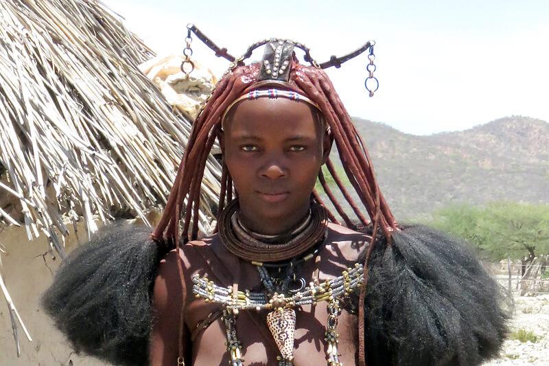 ヒンバ族の衣装