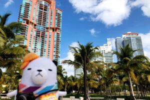 アメリカ東海岸を代表するリゾート地・マイアミ ©関西テレビ