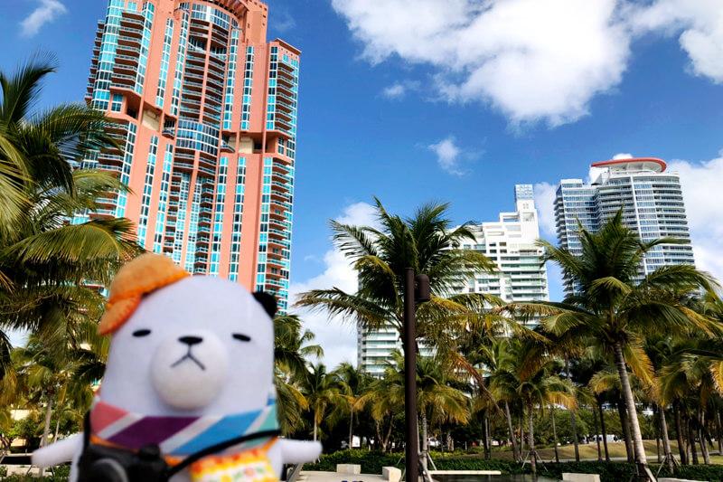 ジーンちゃんがアメリカ東海岸のリゾート・マイアミへ!キューバ気分を満喫できるディープスポットをご紹介!