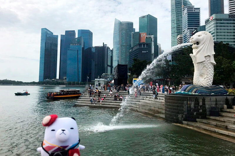 ジーンちゃんがアジア屈指の観光地・シンガポールへ!行列屋台グルメを3連発でご紹介!