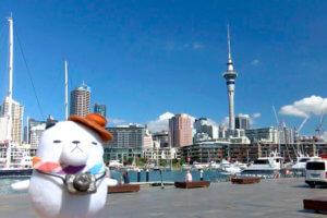 ジーンちゃんはニュージーランド・オークランドへ ©関西テレビ