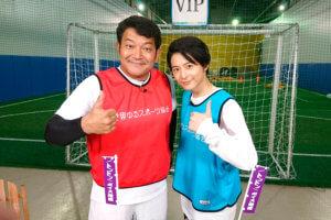 小池徹平と「ゆるスポーツ」体験 ©関西テレビ