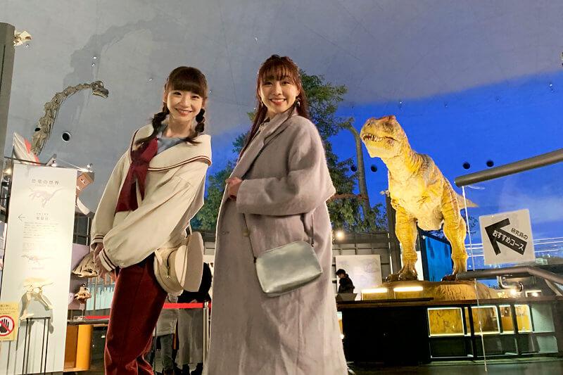 須田亜香里と荻野由佳が越前の国・福井へ。芦原温泉では温泉露天風呂付スイートに宿泊!