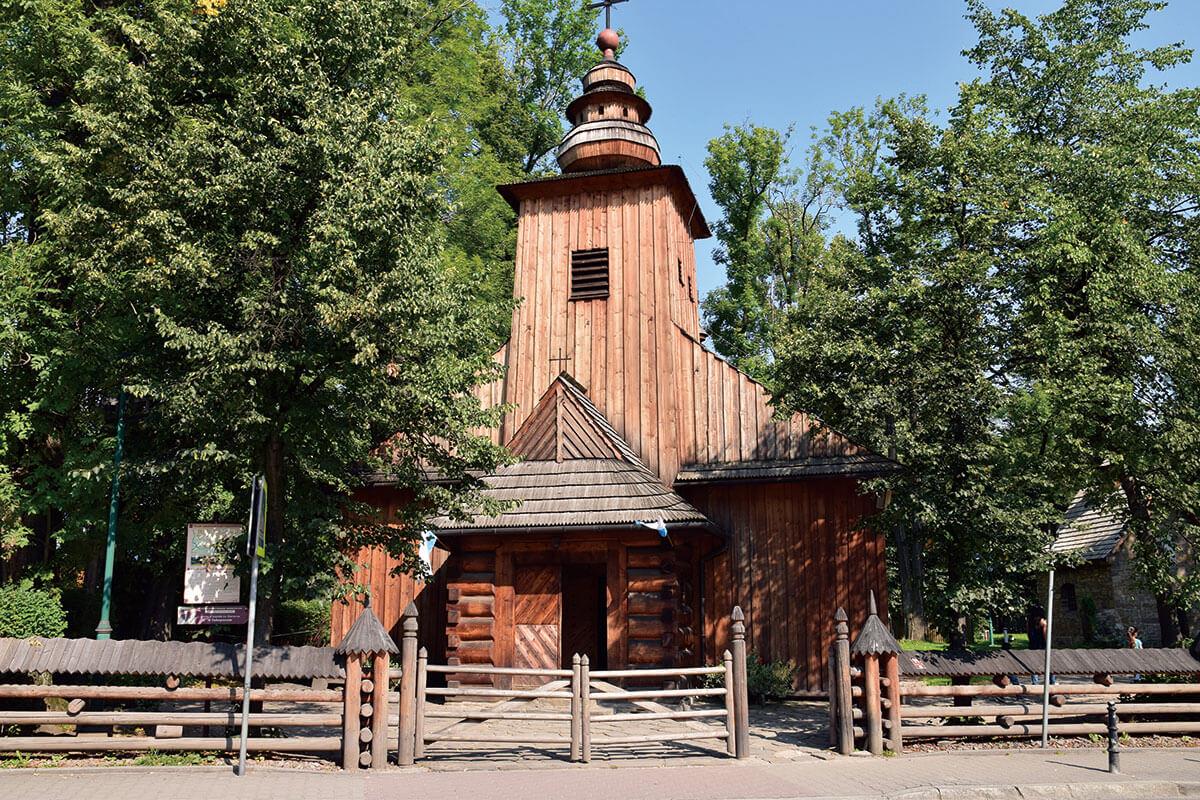 ザコパネ 旧木造教会