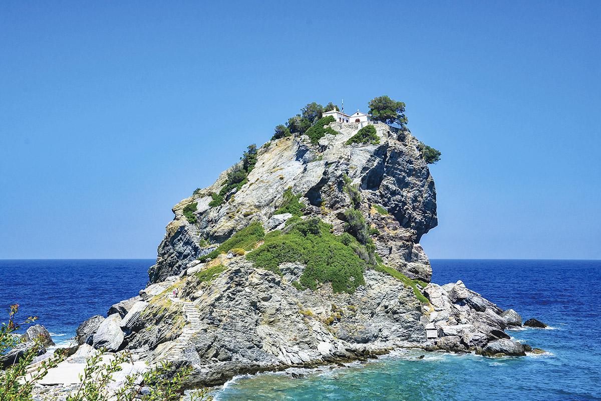 スコペロス島 アギオス・イオニアス教会