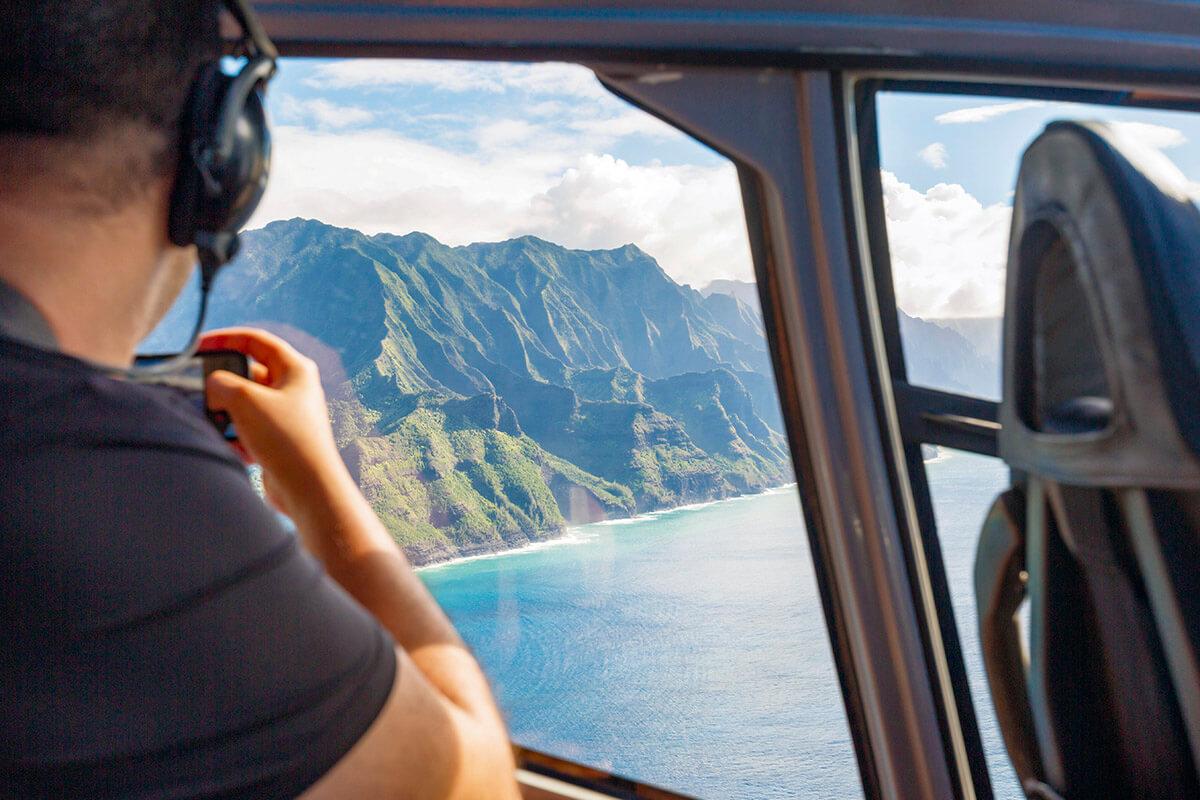 カウアイ島 ヘリコプターツアー