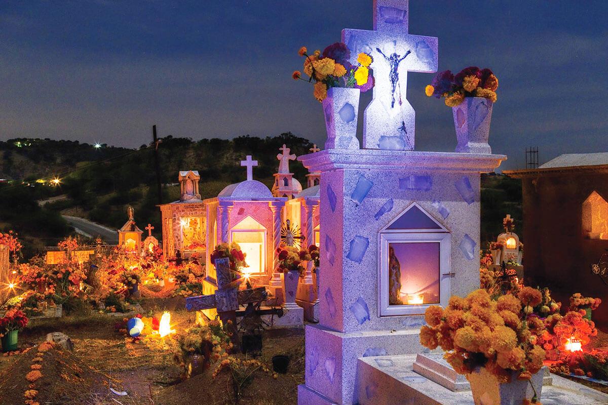 死者の日 墓地