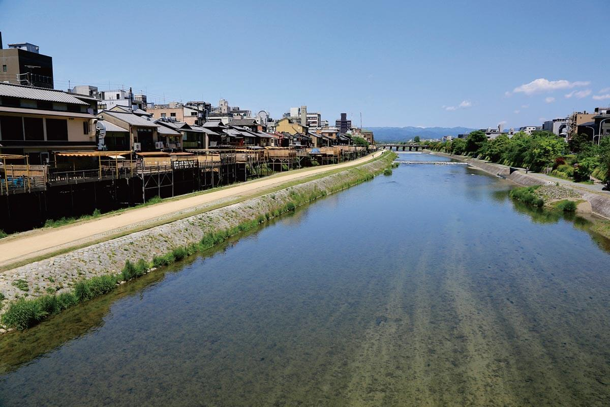 京都 鴨川の川床