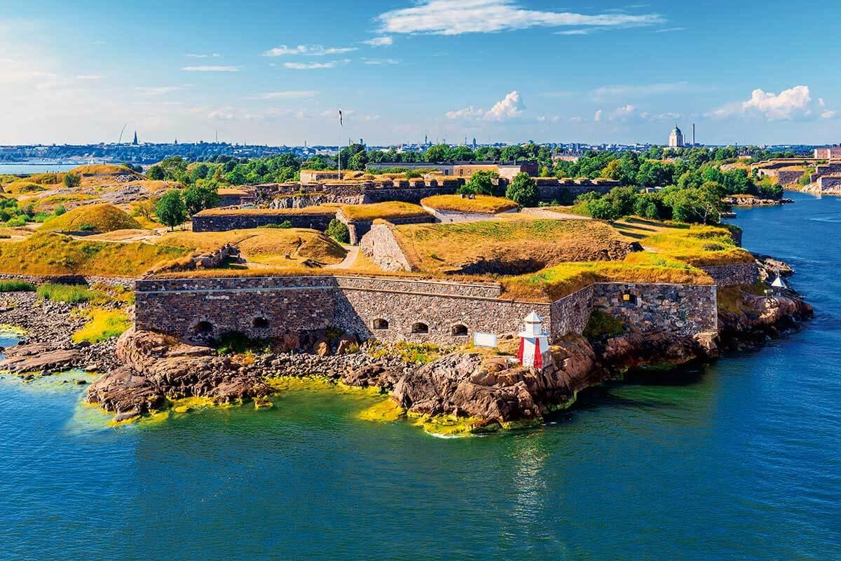 フィンランド・ヘルシンキ スオメンリンナ島要塞