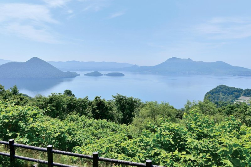 北海道・中島がぽっかり浮かんだカルデラ湖「洞爺湖」に行ってみよう。