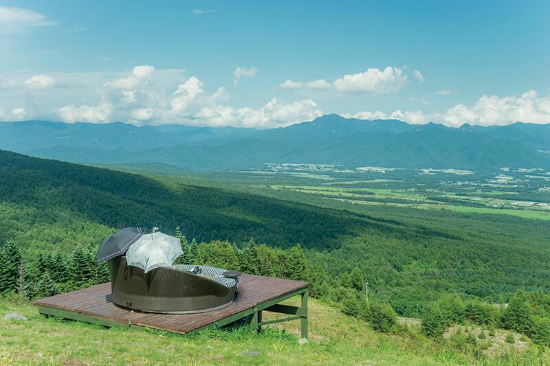 八ヶ岳の清里テラス