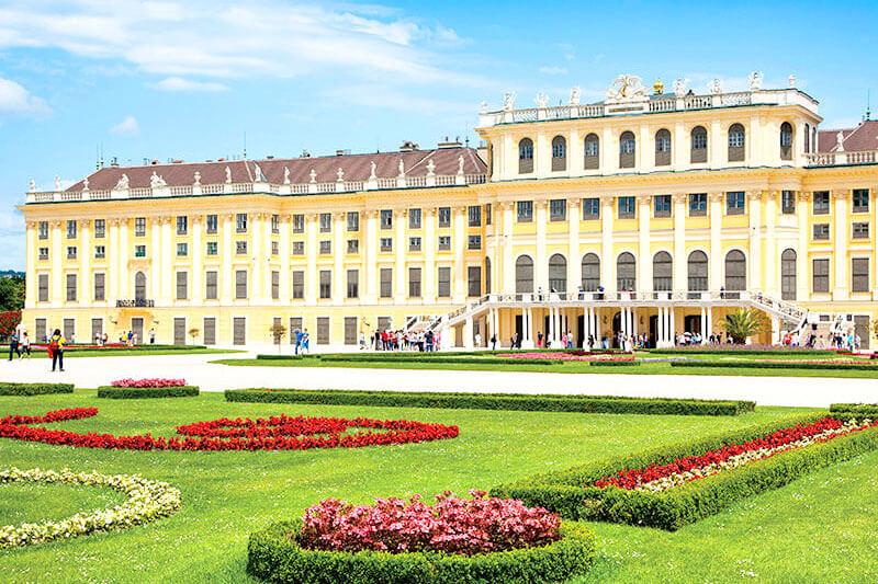 オーストリア・ウィーンのシェーンブルン宮殿