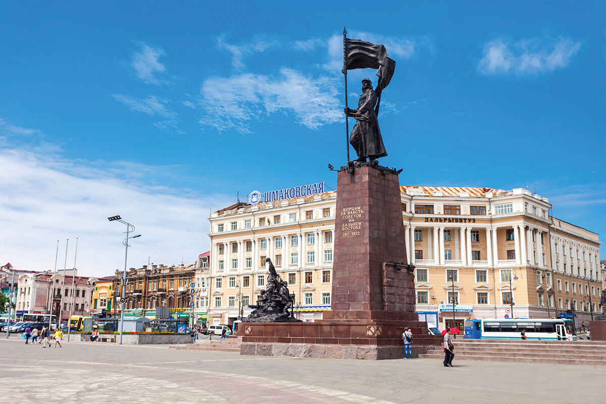 ウラジオストク中央広場