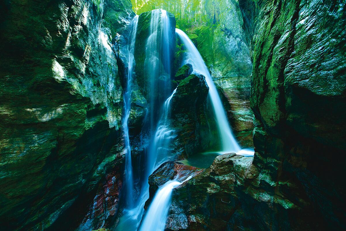 仁淀川 雨竜の滝