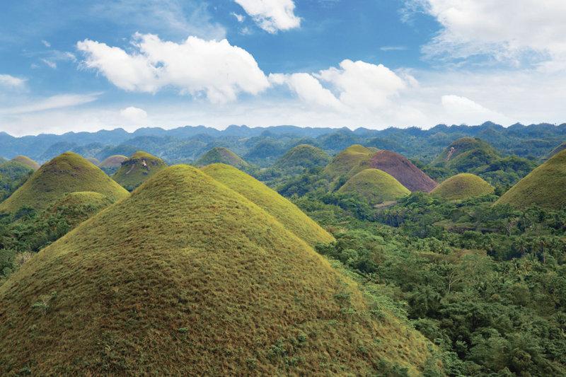 セブ島から日帰りできる! フィリピンのボホール島「チョコレートヒルズ」に行こう!