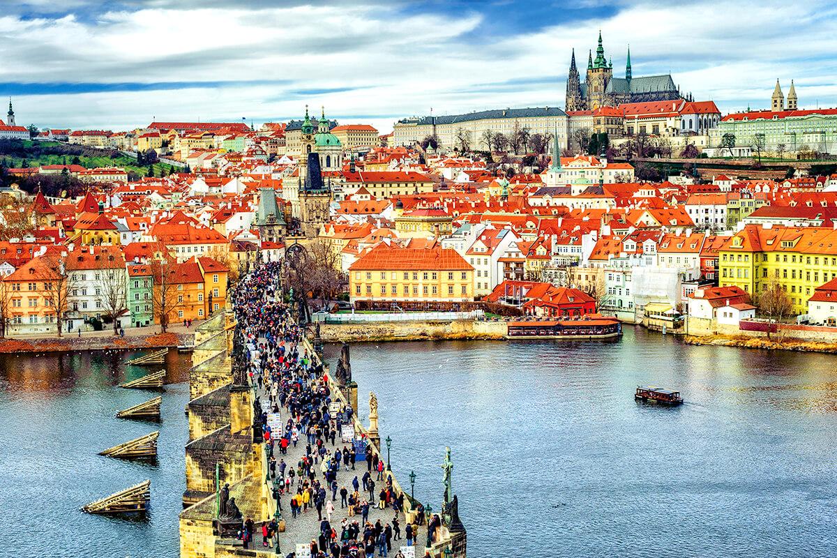 プラハの街