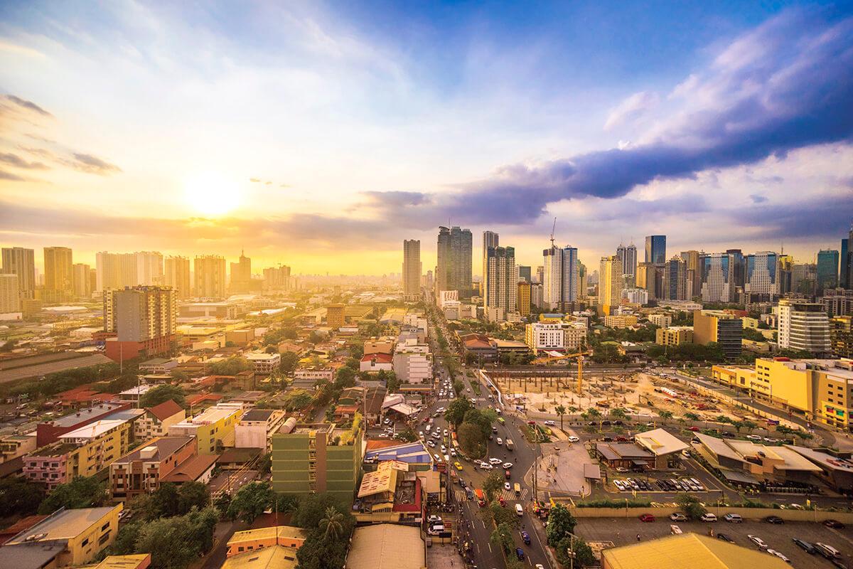 フィリピン マニラ市街地