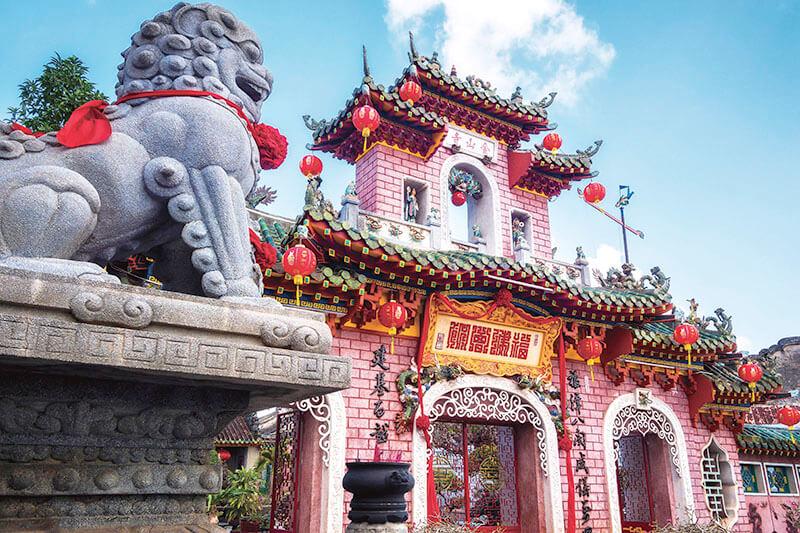 ベトナム ホイアン・福建会館