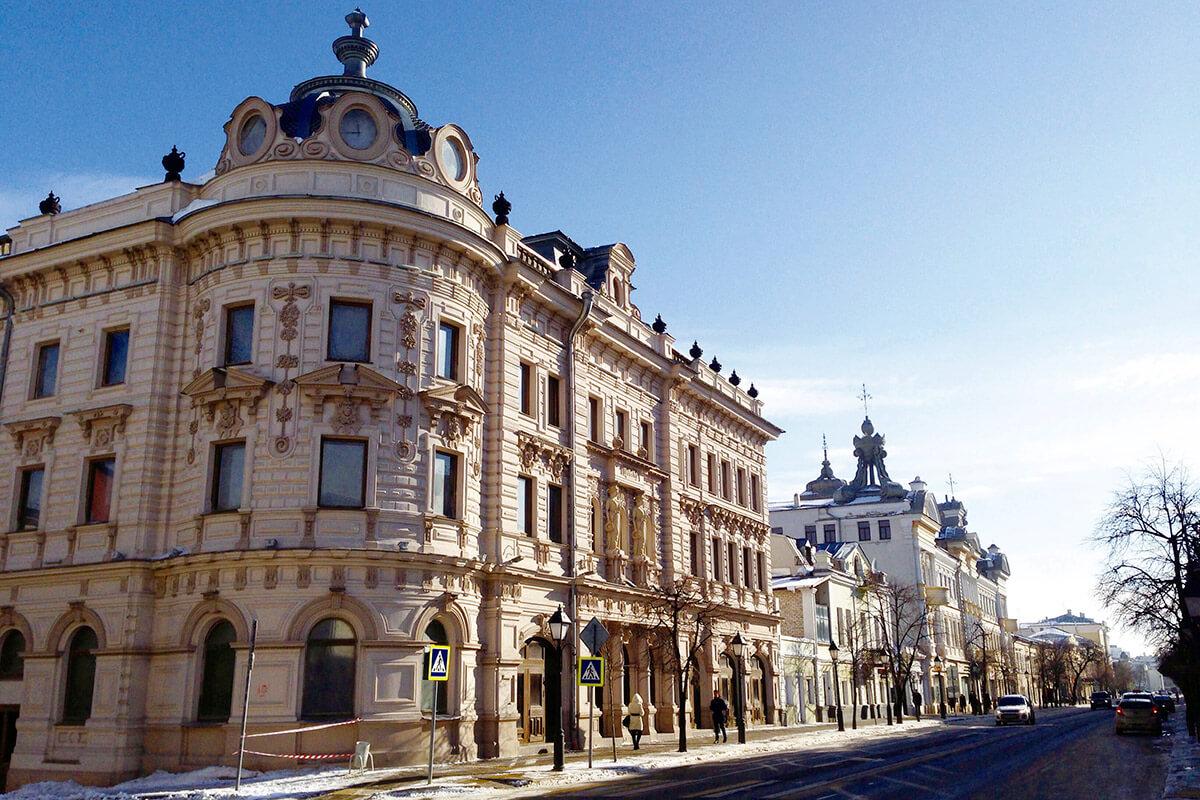 カザン市街