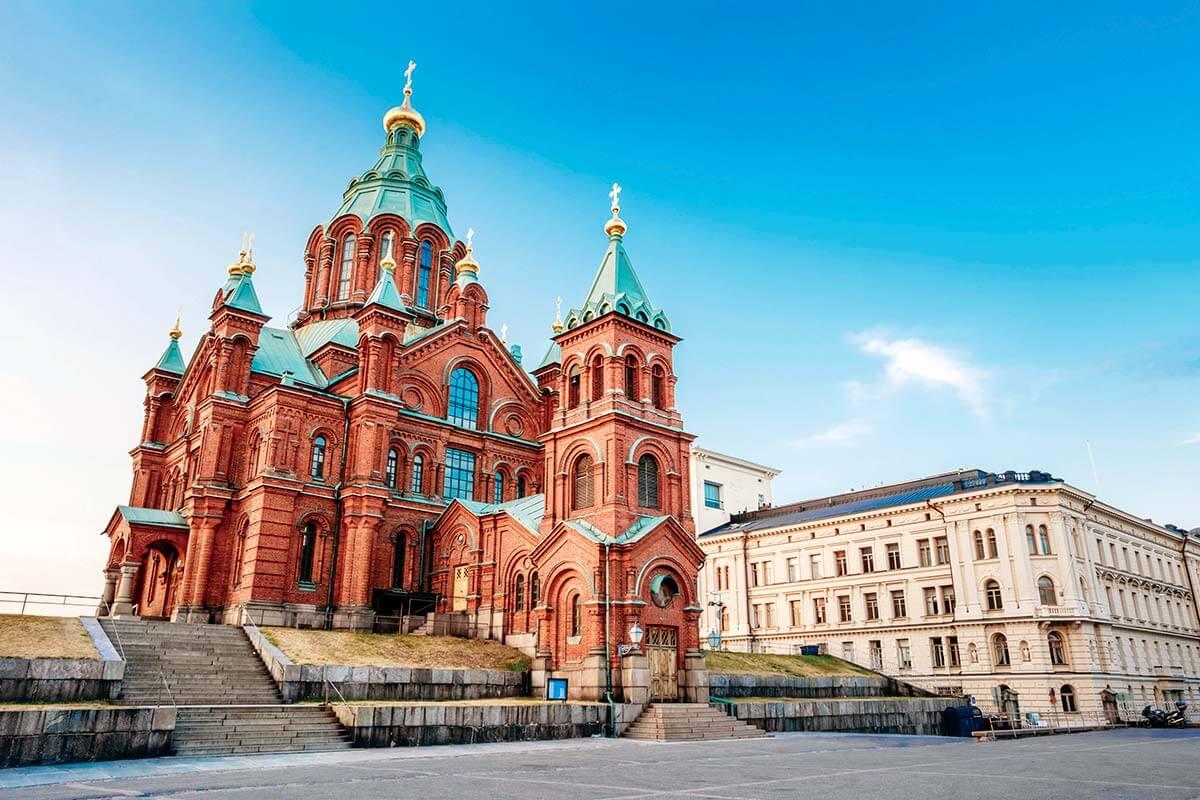 フィンランド・ヘルシンキ ウスペンスキー大聖堂