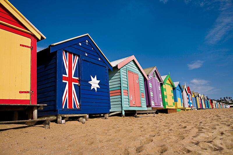 オーストラリア・ブライトンビーチ