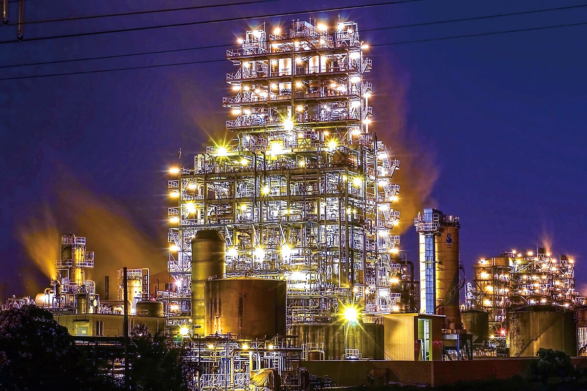 昭和電工川崎工場