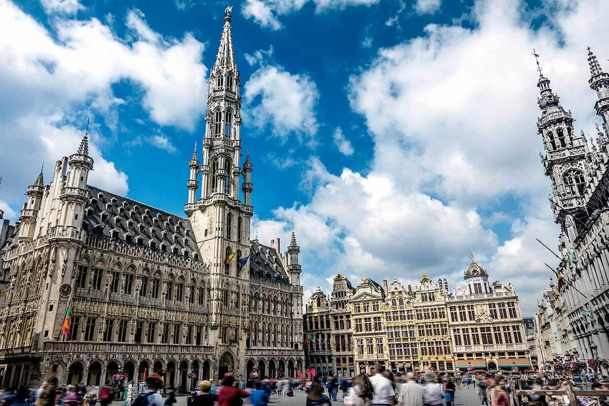 ベルギー ブリュッセル 世界遺産・グランプラス