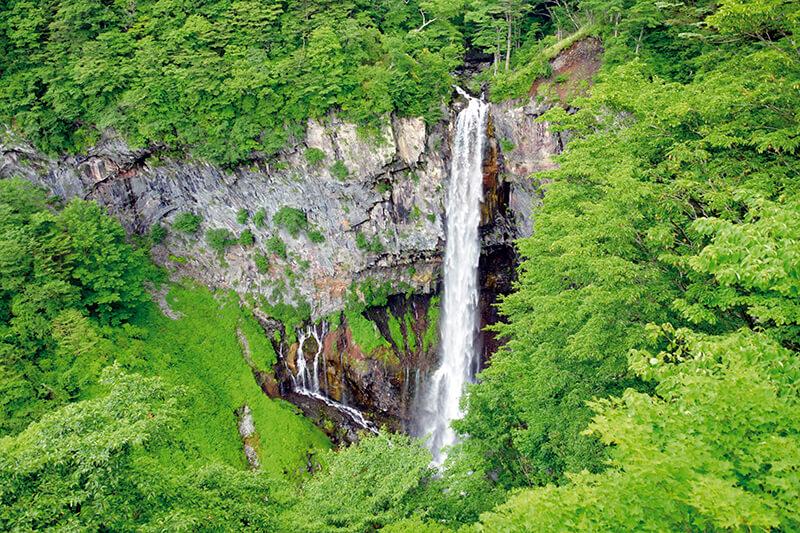 栃木県日光市 華厳の滝(夏)