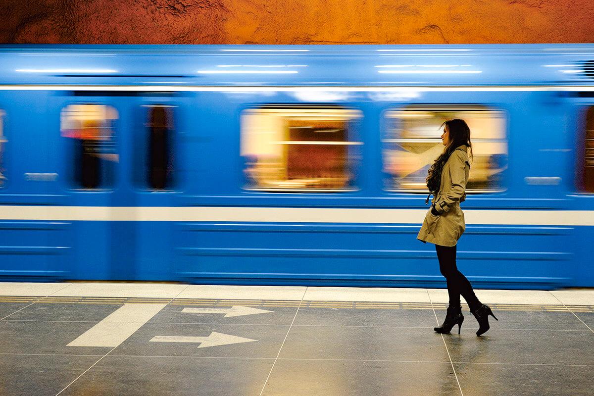 ストックホルム地下鉄(イメージ)