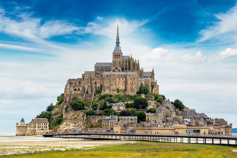 まるで絵画みたい……!! フランスを代表する世界遺産「モン・サン・ミッシェル」に個人で行ってみよう。