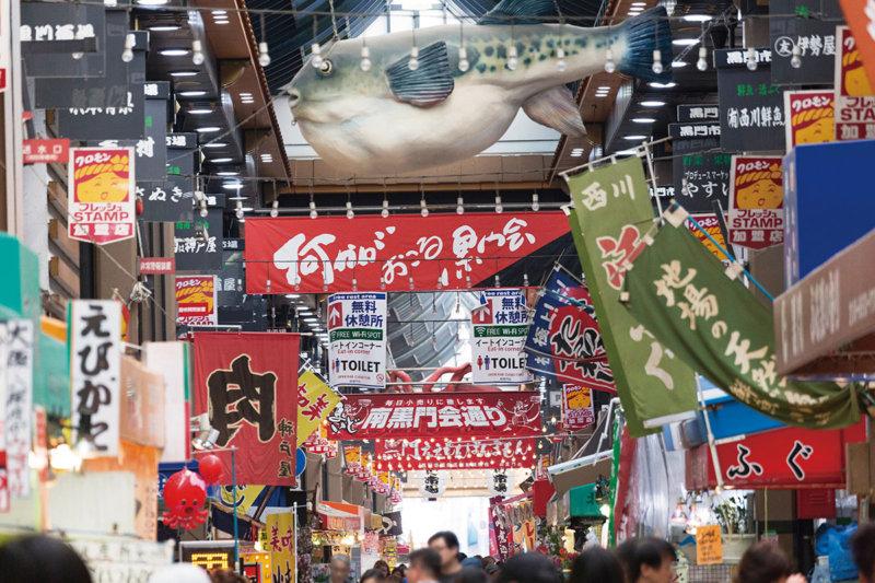 本当に食いだおれちゃうかも!! 大阪の台所「黒門市場」で食べまくろう。