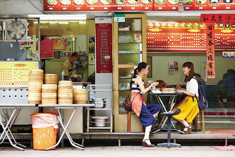 台湾・料理屋さんでグルメを堪能