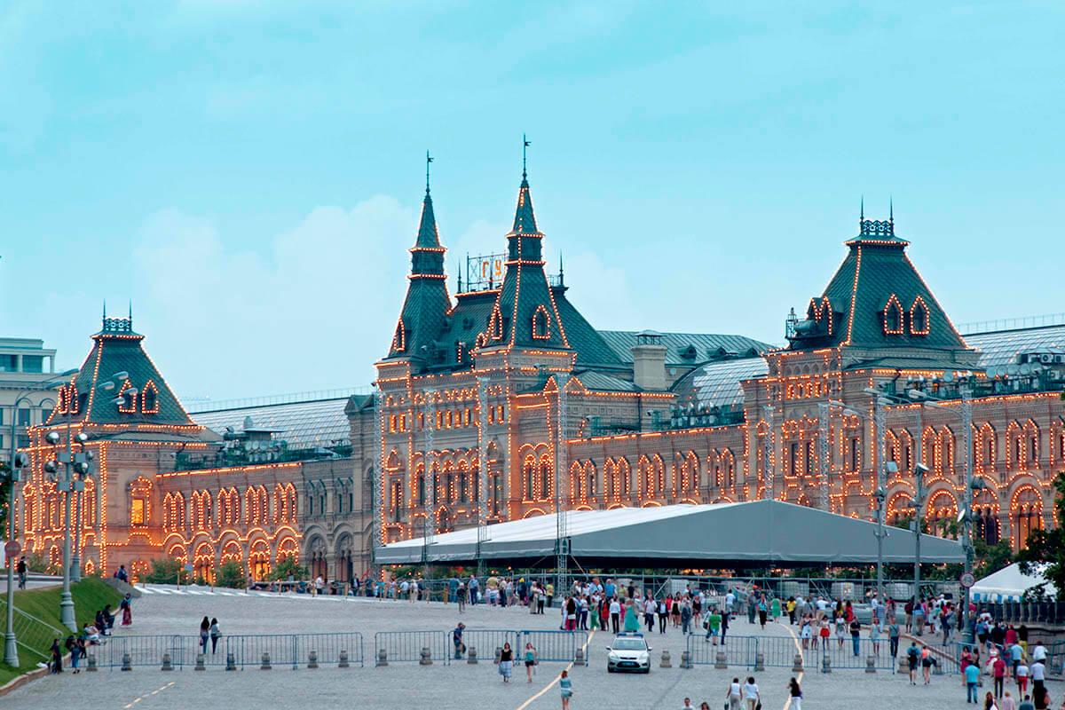 ロシア・グム百貨店