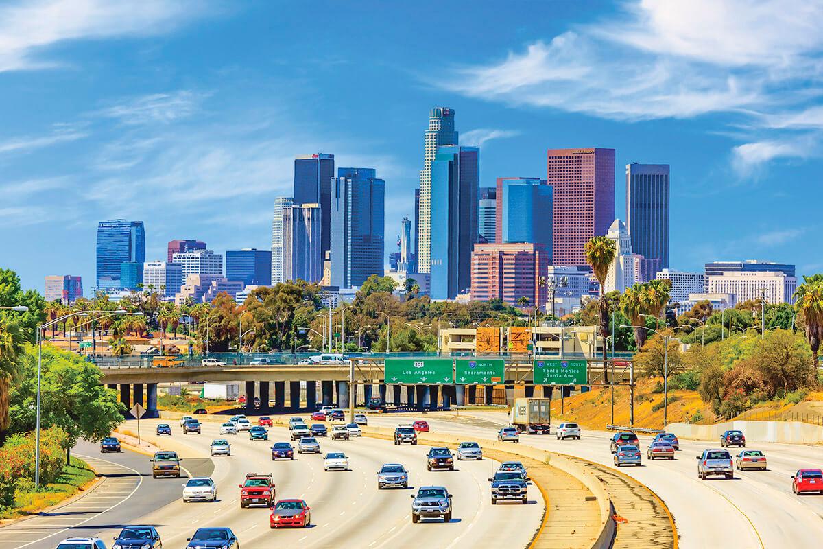ロサンゼルスの街