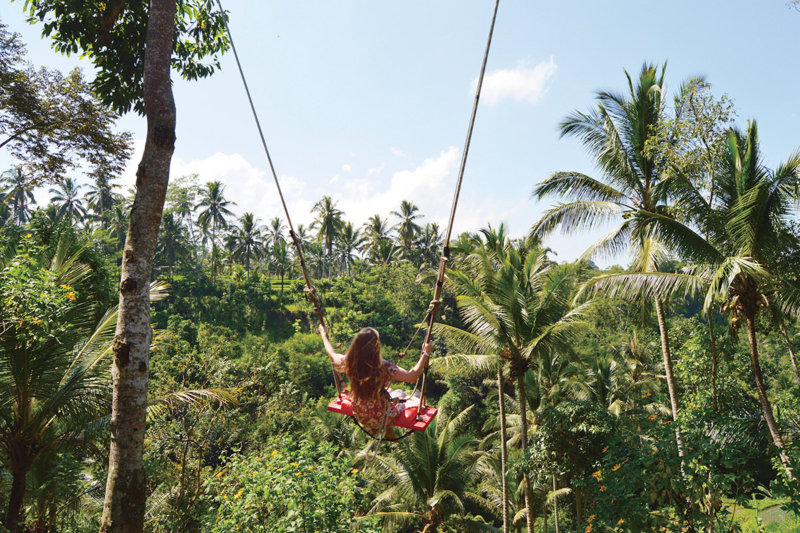 インドネシア・バリ島ウブドにある絶景ブランコ「バリスイング」がSNS映えするので行ってみよう。