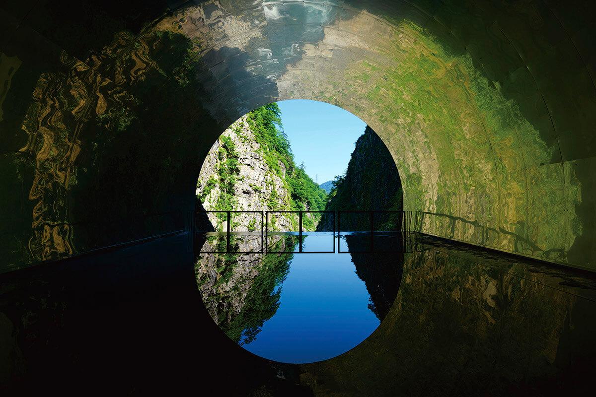 清津峡トンネル パノラマステーション