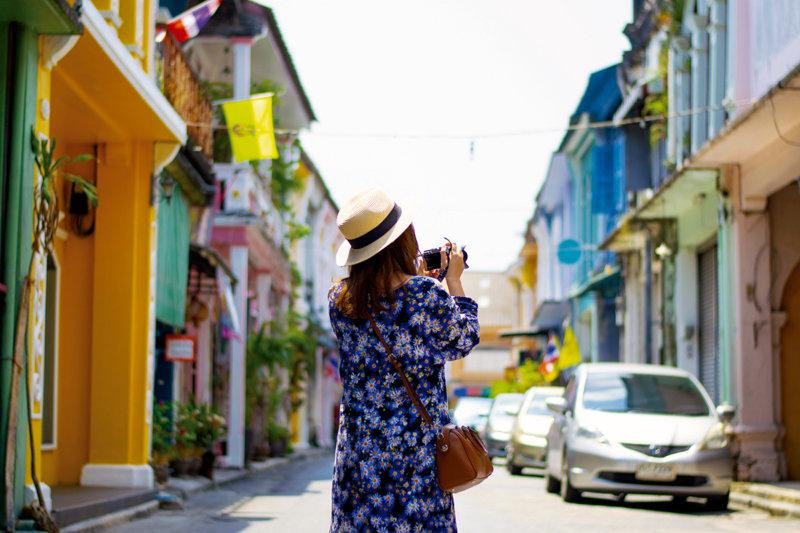 パステルカラーの街並みが超かわいい!! タイ・プーケット「オールドタウン」に行ってみよう。