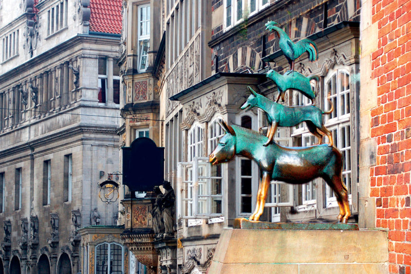 童話の街ドイツのブレーメン! かわいい景色と、有名ビールを楽しもう