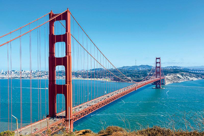 『フルハウス』サンフランシスコ ゴールデンゲートブリッジ