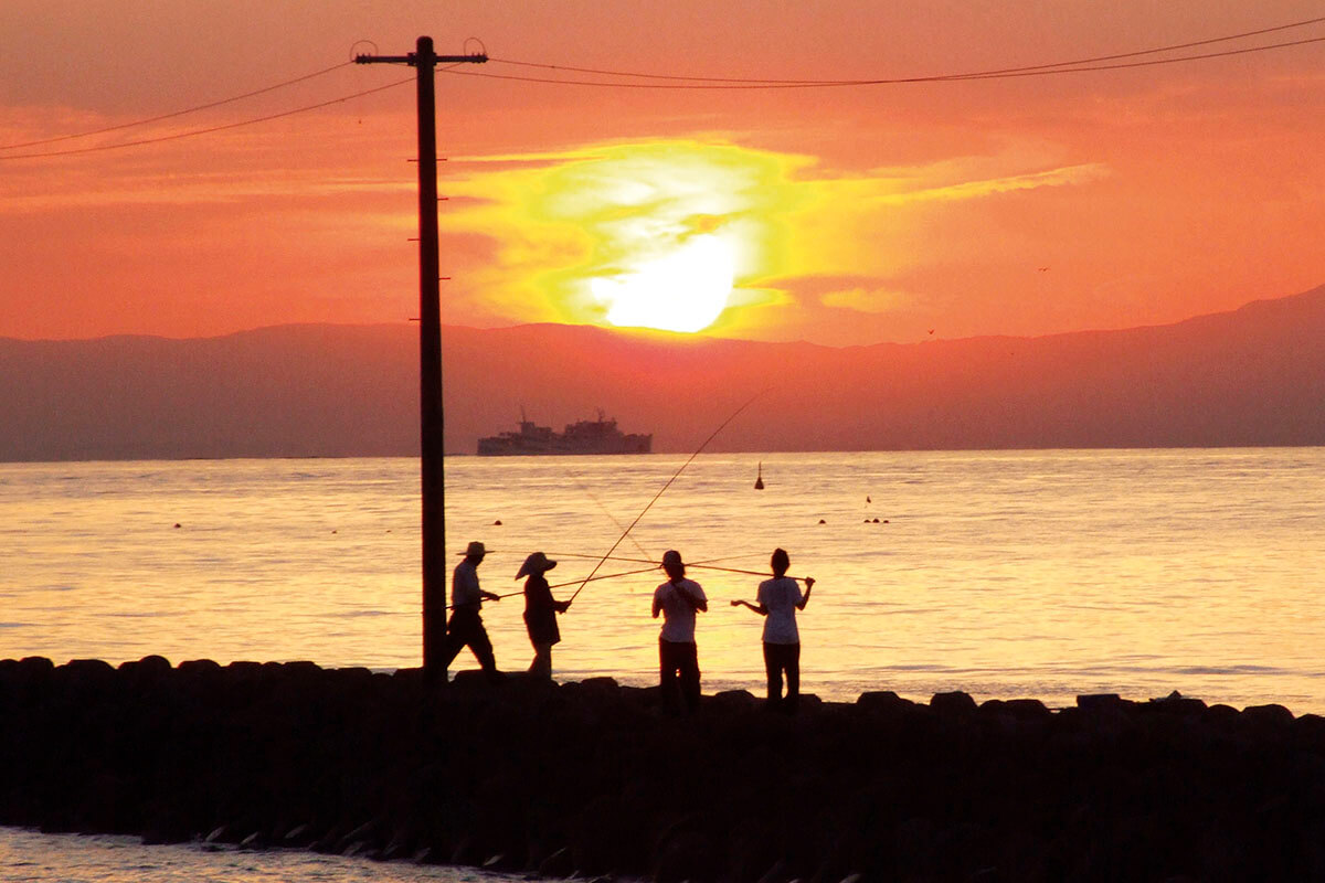知多半島 釣り(イメージ)